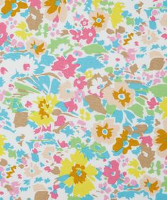 Turquoise Garnett Cotton Craft Fabric, Liberty Art Fabrics. Shop more from the Liberty Crafting Fabric collection at Liberty.co.uk