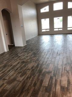 Home Remodeling Gallery & Ideas - Kitchen, Bathroom, & Flooring Wood Plank Tile, Wood Planks, Granite Slab, Granite Kitchen, Floor Design, Tile Design, Terrazzo Flooring, Hardwood Floors, Mohawk Flooring