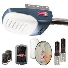 genie genie garage door opener 2 remotes 1 wall console u0026 wireless