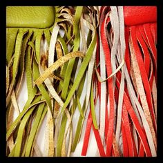 Tassels from the Coach Shimmy Bag from 1960's #ThrowbackThursday #tbt