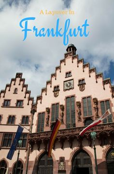 Things to Do on a Long Layover in Frankfurt European Destination, European Travel, Europe Travel Tips, Travel Destinations, Budget Travel, Travel Guides, Holiday Destinations, Cool Places To Visit, Places To Travel