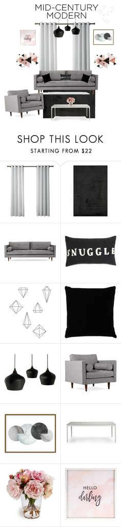 """Modern and class"" by marie-fashion93 ❤ liked on Polyvore featuring interior, interiors, interior design, home, home decor, interior decorating, Loloi Rugs, Joybird, Umbra and Kevin O'Brien"