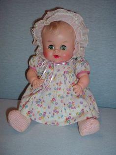 Vintage Doll Sun Rubber Babee-Bee 1950's Cries /Squeaks Cute Baby Ruth E. Newton (06/08/2012)