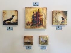 Pic from this weeks show Torched Acrylic Process
