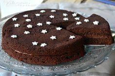 Torta pan di stelle al cacao e crema al cioccolato, un dolce per gli amanti del cioccolato,bello da vedere e goloso tanto goloso da mangiare!