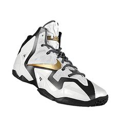 I designed the white Vanderbilt Commodores Nike men's basketball shoe.