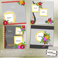 Be Inspired: August 2013 by AADesigns