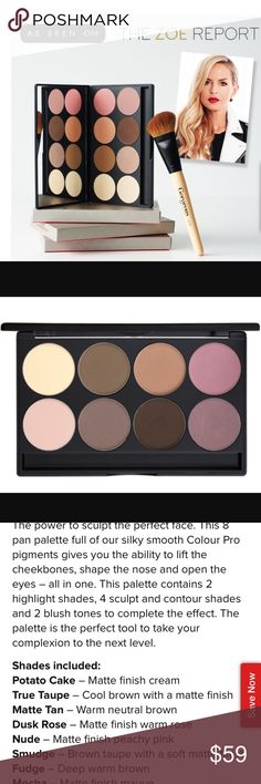 Gorgeous Cosmetics Contour 8 Pan Palette-NWT! Gorgeous Cosmetics Contour 8 Pan Palette-NWT! Best in Makeup HOST PICK 10-5-16 by @buksi and also 10-30-16 by @westcoastchic Sephora Makeup