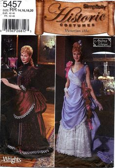 Victorian era bodice apron bustle skirt by ZimmergirlzBazaar