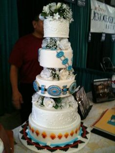 navajo wedding cake soo pretty