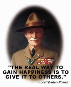 Baden Powell [As I was a former Boy Scout; I was photographed with the wax statue of him when I was in England, The one story I picked for my project is linked to this. @dietrichthrall leaving the Boy Scouts was my biggest regret, This was a huge reason my imprint lasted as long as has.]