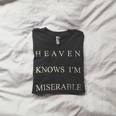 fashion, awesom tshirt, style, cloth, shirts, the smiths, miser, tee, heavens