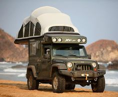 Another cool Jeep camper
