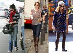 Confira os looks e o estilo da atriz Anne Hathaway!