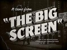 The Big Screen by Ben Harman #Design Popular #Dribbble #shots