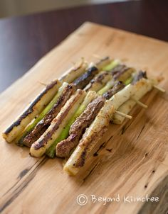 Beef and Rice Cake Skewers | Beyond Kimchee