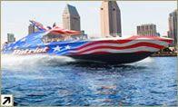 Jetboat harbour tour
