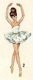 barbie's ballerina outfit
