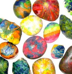 Tie Die Rocks- Another fun idea to end our Rocks and Minerals Unit