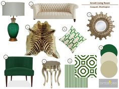 Emerald Green at it's finest!  Elegance and glamour.