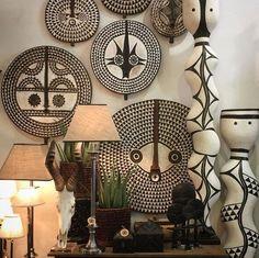 african home decor Home Decor Accessories South Africa African Living Rooms, African Room, African Interior Design, African Design, Ethnic Decor, Tribal Decor, Tribal Art, Ethno Design, African Furniture