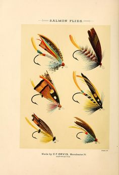 Salmon Flies, Mary Orvis Marbury - Favorite Flies and Their Histories 1892