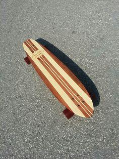 Skinner Custom Longboards - Brooklin Cruiser 2.0 - www.skinnercustomlongboards.com #skateboard #longboard #longboarding #customlongboards #tonthawk #birdhouse #toymachine #skateordie