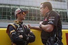 Interview de Romain Grosjean
