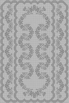 (9) Gallery.ru / Фото #37 - pp - ergoxeiro Butterfly Cross Stitch, Just Cross Stitch, Cross Stitch Charts, Cross Stitch Patterns, Crochet Doily Patterns, Crochet Doilies, Crochet Lace, Embroidery Patterns, Fillet Crochet