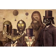 Found it at AllModern - Victorian Wars #2 by Terry Fan Graphic Art on Canvas