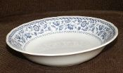 Nikko Blossom Time Blue Floral  Soup Bowls