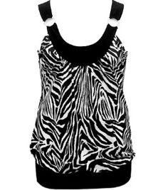 Diamond Zebra Sexy Tank Top