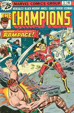 Champions # 5 by Rich Buckler & Dan Adkins