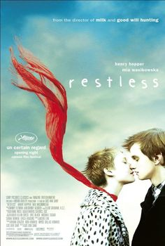 """""""Restless"""" looks like a beautiful film about a terminally ill teenage girl who falls for a boy who likes to attend funerals and their encounters with the ghost of a Japanese kamikaze pilot from WWII. Opens 25 November 2011 in Sweden."""