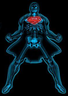 x ray superman X ray DC Superheroes by Arturo Liceaga