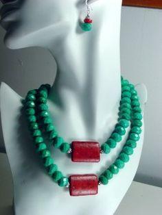 Bold Turquoise Necklace
