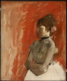 Edgar Degas, Ballet Dancer with Arms Crossed, about 1872.
