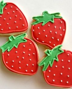 Strawberry cookies yummmy