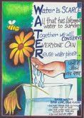 Water Conservation by Reya Kundu Carmel Convent School, Sector , Chandigarh Poster Competition, Drawing Competition, Water Poems, Save Water Poster Drawing, Illustration Tumblr, Water Scarcity, Challenge Quotes, Water Day, Water Conservation