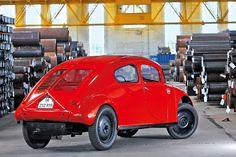 OG | 1935 Eugen Maier Volks-Wagen | Economical people car prototype designed by Friedrich Eugen Maier