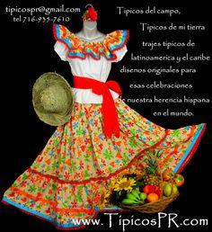 El vestido es tradicional. Es muy bonito y colorido. Mi gusta el vesitdo por que es colorido. Sam and paige