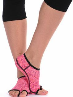 $6.99 for Sanwood Women's Grip Toeless Yoga Socks