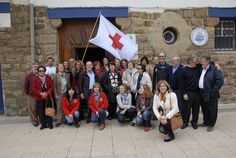 Reunión de voluntarios/as de Intervención Social de Cruz Roja Uribe Aldea hoy en la Base de #Arriluze