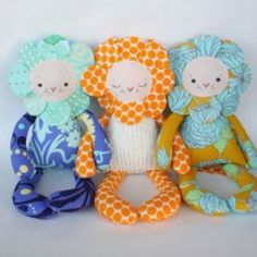 Liberty Lion Doll - 15 inch | YouCanMakeThis.com
