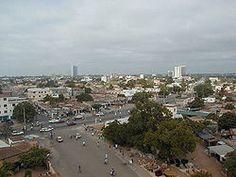 Lomé es la capital de Togo (África).