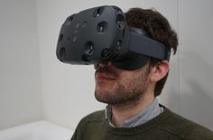 HTC Vive: Virtual Reality that's so real that you feel transported. According to the article, it's better than Oculus Rift.