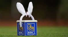 RBC Heritage This special edition marker was used this year at Harbour Town when the event finished on ... you guessed it ... Easter.
