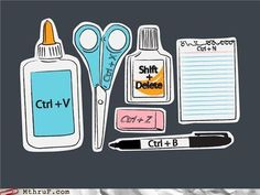 Shortcut icons for teaching technology@Heather Kilgore, have you seen these?  Super cute!