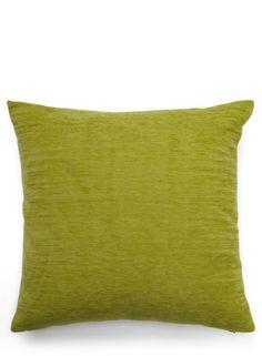 Green Plain Chenille Cushion - home sale - For The Home - BHS