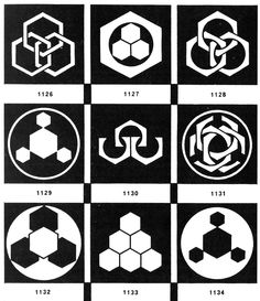 The hexagon & its variants. (i)